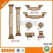 RSB color copper cabinet pulls AK4148