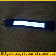 Led snap bracelet led slap wristband flash band