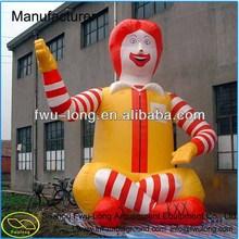 Custom Inflatable Advertising Cartoon for Kids/ Inflatable Advertising for Sale