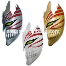 party half face death mask plastic halloween masks for sale MK-1518