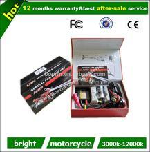12 months warranty ac moto hid xenon slim kit