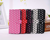 Red/White Polka Dots Leather Flip Case For Samsung Galaxy S4/SIV i9500,Waterproof Case For Samsung S4