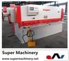 hydraulic steel sheet cutter QC12T-4x1500,nylon sealing and cutting machine