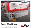 Aço hidráulica folha cortador qc12t-4x1500, Máquinas de corte chave silca
