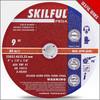 "9"" 230X3X22.2MM Resin Abrasive Discs T41 80M/S"