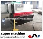 hydraulic steel sheet cutter QC12T-4x1500,potato peeling and cutting machine