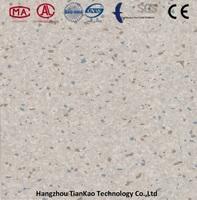 homogeneous commercial pvc flooring