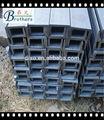 gb de canal de tamaños de hierro laminado en caliente q235b
