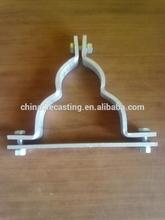 die casting aluminum parts cast iron garden bench part cast iron bell parts