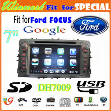 DH7009 MONDEO/FOCUS/S-MAX 7 inch Ford Car DVD Player GSP Radio Bluetooth TV 3G etc