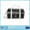 Men's Black Genuine Leather Travel Bag