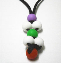 New Product Silicone Teething Pearl Pendants Manufacturing 2014