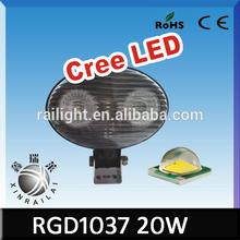 9-32V Led Off Road Work Lighting 20W Cree Led Headlight Motorcycle RGD1037