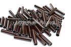 Hot Promotional carbon fiber 3k plain red tubes