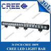 dirtbike led light bars led light bar 180w ip67 led alloy work light bar flood spot