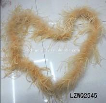 Decorative Fluffy Ostrich Feather boa LZWQ2545