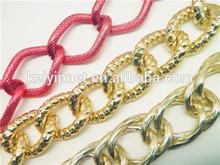 fashion decorative ornament chain aluminum chain necklace