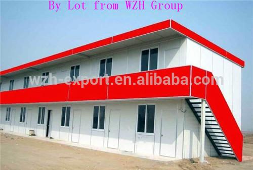 Moderne Structure en acier préfabriqué mobile Container maison / maison préfabriquée