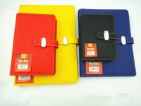 2014 Calendar Yellow Paper 90 Pages Pu Notebook Cover Design