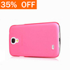 funky Phone Case Colorful Matte Transparent Back Cover Case for Samsung Galaxy S4