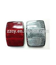 Guardabarros bicicleta reflector/delantero y trasero reflector bicicleta/bicicletas reflectores de la rueda