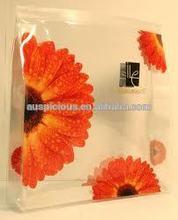 Eco-friendly customized design EVA/PVC ziplock cosmetic bag