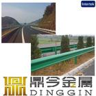 China Zinc coated highway guardrail decorative guardrail