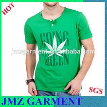 Short Sleeves, Organic Cotton Men Tshirt/ mens printing t-shirts