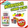 180g DHA HALAL gelatin gummy candy for children