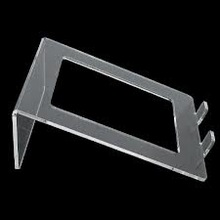 elegant simple clear acrylic laptop stand manufacturer