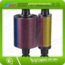 High Quality Evolis colourful thermal transfer printer ribbon