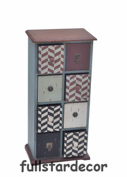 Antique Wooden Cabinets Shabby Chic Small Cabinet
