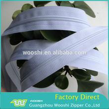 Factory promotion 5# long chain G serie nylon zipper glissiere en nylon for woman dresses,trachten dirndl