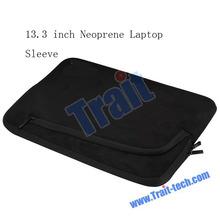 Universal Black Fashion For Macbook 13.3 inch Neoprene Laptop Sleeve Zipper Notebook Bag Case