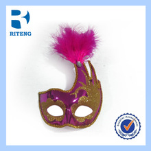2014 new design traditional classic Metal Carnival mask female venetian party masque paper mask