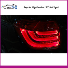 Toyota Highlander car Tuning LED Tail light