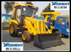 2014 New model construction machine WZL25-10B China made wheel backhoe loader with hydraulic breaker and free wearing parts