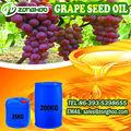 100% frescas libres de colesterol esencial de masaje de semilla de uva aceite