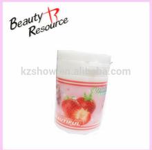 OEM!!!Hot plastic bottle fast clean acetone free sponge fruity perfume nail polish remover