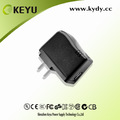 Universal de entrada 100-240vac 5v 500ma salida de cargador de viaje usb