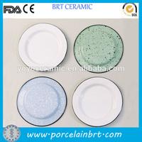 Colorful bulk enamel tableware