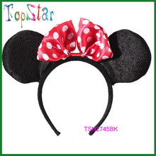 China Supplier Custom Hot Sale Disney Mickey Mouse Ears Headband For Sale