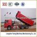 وتستخدم على نطاق واسع الصانع الصين تفريغ شاحنة قلابة الخلفي