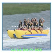 2014 high quality/hotsale/pvc/water/sea/funny/cheap/double/inflatable sea banana boat