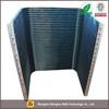 High performance aluminium extrusion profile for radiators