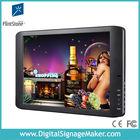 Slim 19inch lcd indoor advertising digital display tv