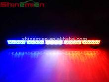 White red blue LED strobe light bar/Car Roof LED Light Bar/Flashing strobe light bar for Ambulance and police car