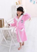 2014 nova primavera lovely crianças 100% algodão roupão de banho