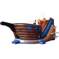 2014 BEST SALE Giant Water Inflatable Slide