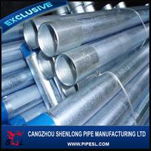 1 1/4 inch galvanized steel tube internal thread